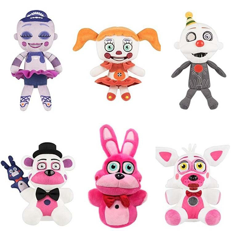 Hot Five Nights At Freddy's 7 Plush Toys Lovely