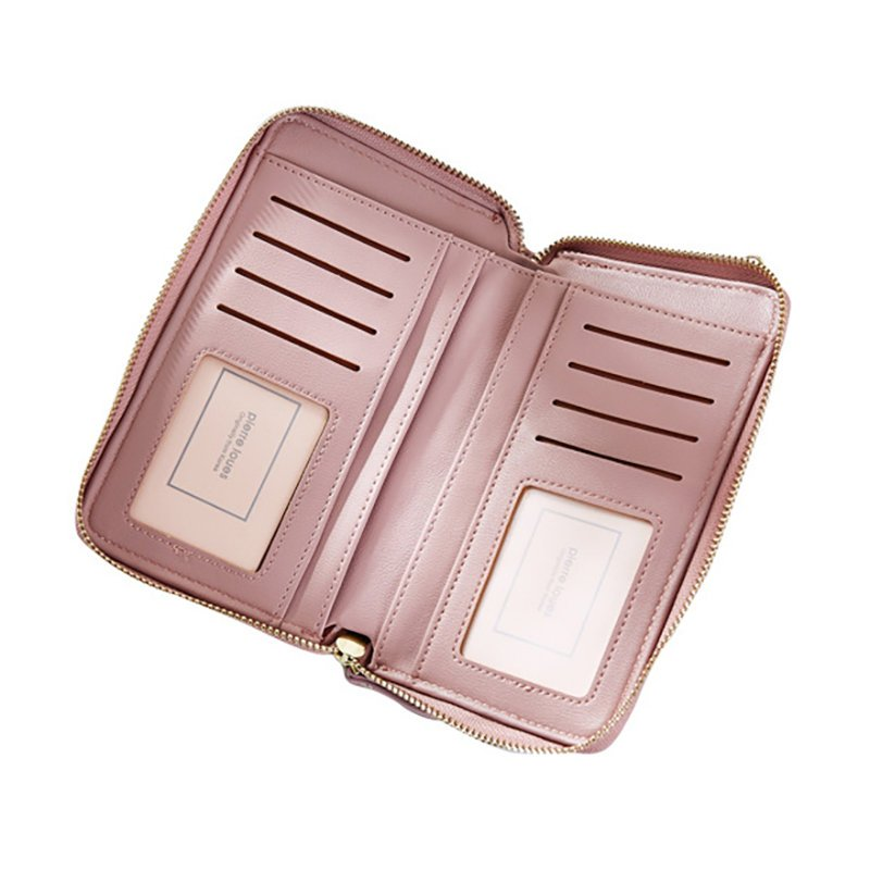 Women Multi-function Phone Bag Long Wallet Card Holder Purse Crossbody Bags