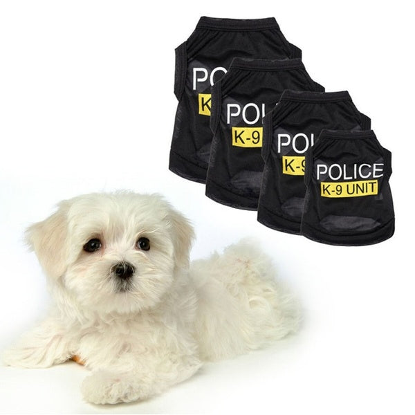Small Pet Dog Vest Clothes Puppy T-Shirt Coat Summer Apparel Costumes Black/Blue/Pink/Green