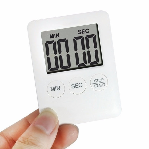 Magnetic Square Cooking Timer Kitchen Timer Multi-function Digital Alarm Clock Tools