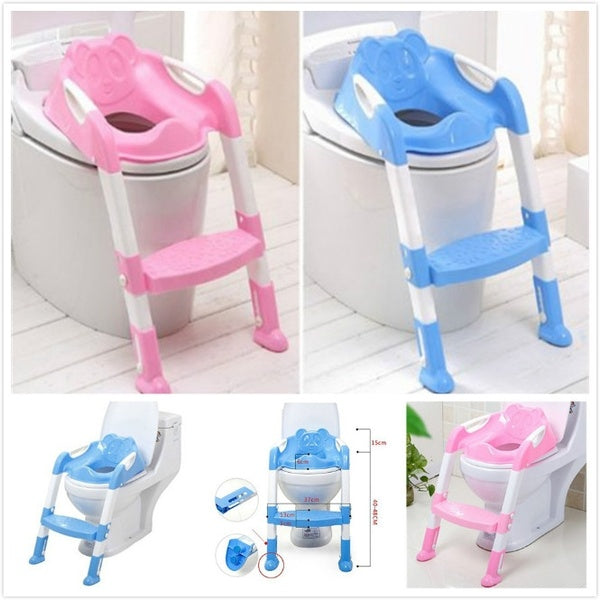 Pleasing Kids Potty Training Seat With Step Stool Ladder For Child Toddler Toilet Chair Evergreenethics Interior Chair Design Evergreenethicsorg