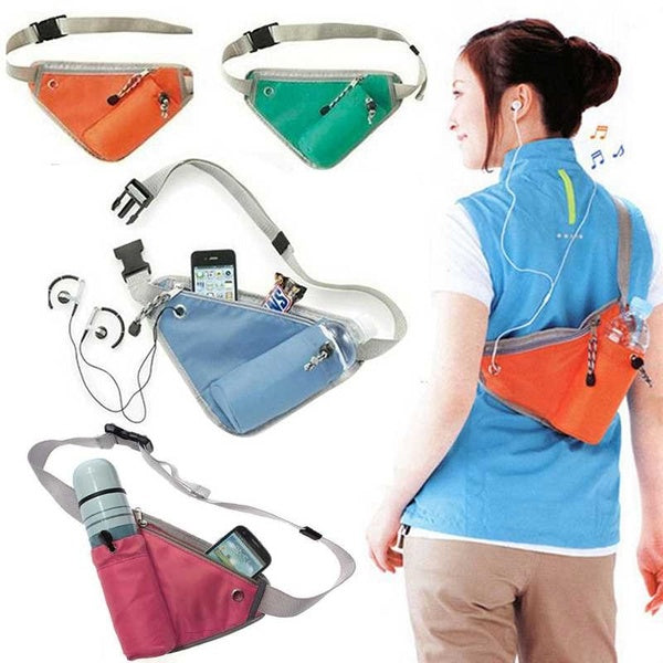 Outdoor Travel Sports Waist Pack Bags,With Adjustable Belt