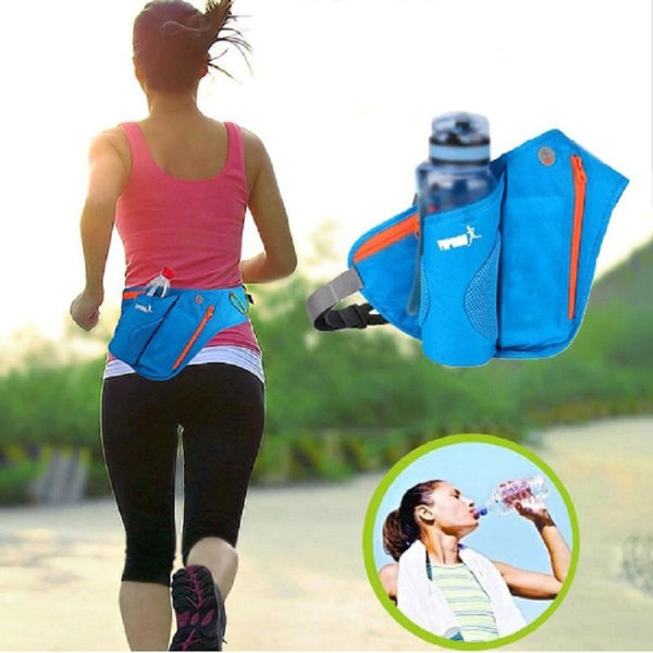 Universal Running Fanny Waist Pack Pouch Belt Phone Pocket Case for Outdoor Camping Hiking
