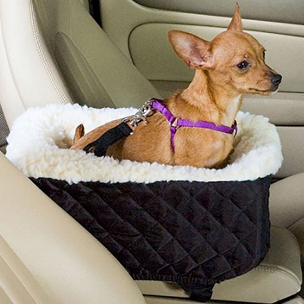 Waterproof Pet Booster Car Seat Portable Foldable Pets Carrier Bag For Cats Dogs Double Thickening