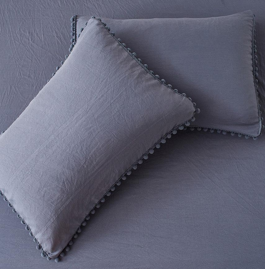 10 Colors Solid Color Washed Cotton Sheets
