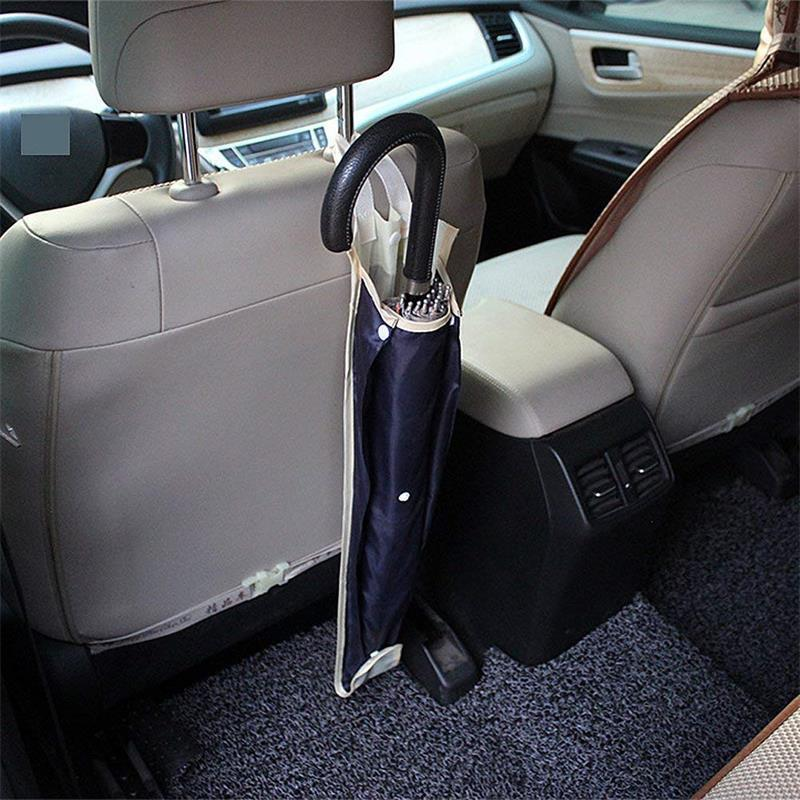 Car Truck Seat Back Umbrella Storage Holder Hanging Waterproof Organizer Bag