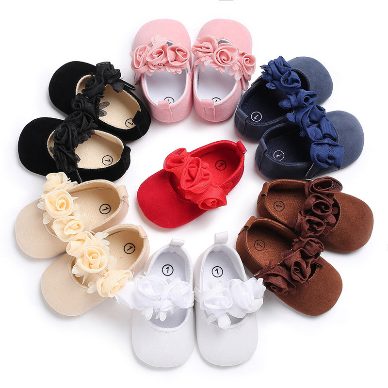 0-18M Lovely Infant Soft Sole Toddler Baby Dance Shoes Crib Shoes Sneakers Baby Shoes
