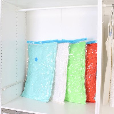 Quilt Clothes Vacuum Seal Compressed Storage Bag Space Saver Storage Bag