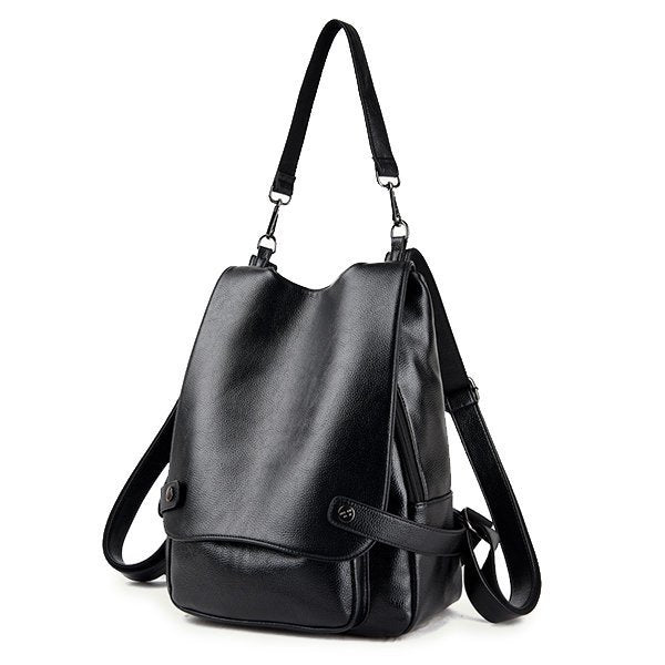 Superior PU Leather Multi-functional High Capacity Backpack Shoulder Bags