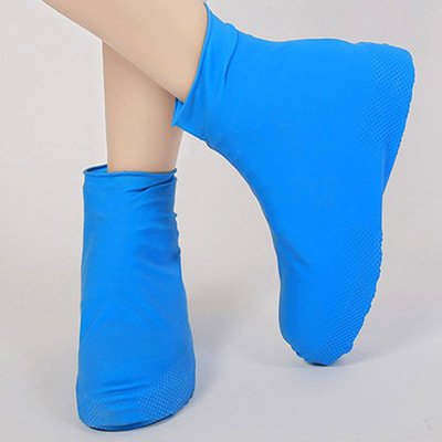Anti-slip Waterproof Shoe Cover Reusable Rain Boot Motorcycle Bike Overshoe