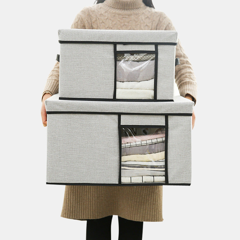 Collapsible Visible Thicken Clothes Storage Box