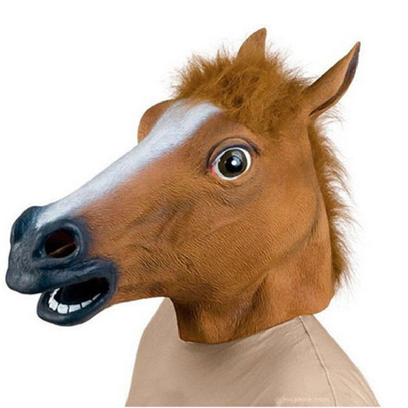 Horse Head Mask Cosplay Masquerade