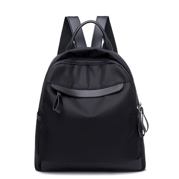 Female New Black Oxford Wild Casual Student Backpack