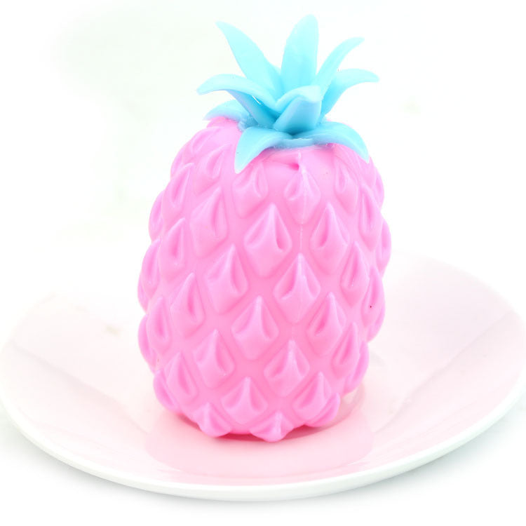Decompression Toy TPR Simulation Pineapple Fruit Beads Vent Ball