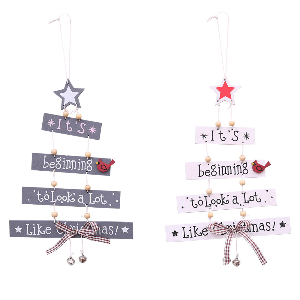 Hot-sale Wooden Christmas Tree Christmas Decorations Christmas Creative Decorations