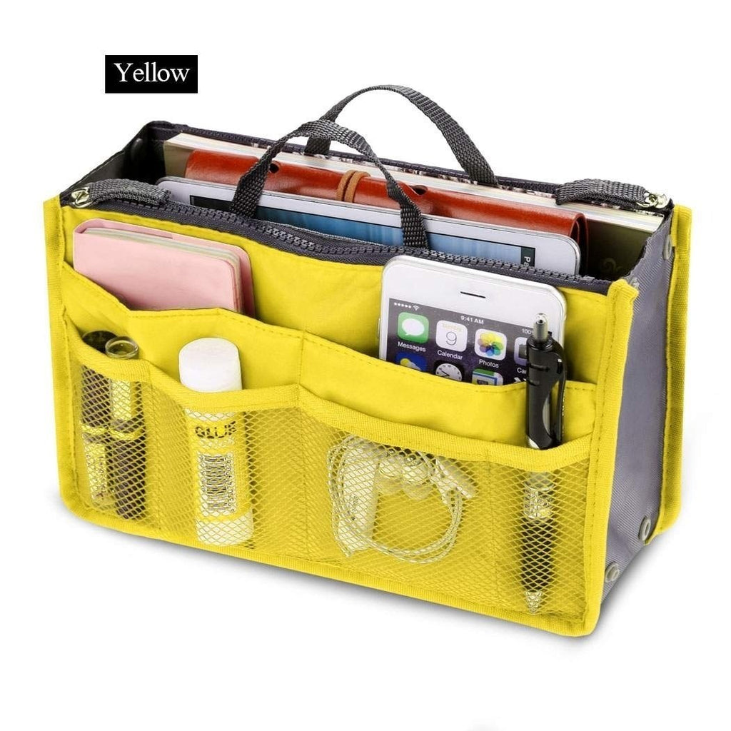 Portable Cosmetic Bag Storage Caser Bag Insert Travel Makeup Bag