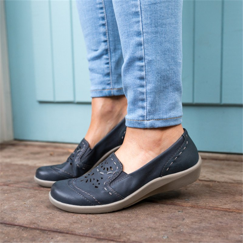 Women Casual Daily Slip On Hollow Out Shoes