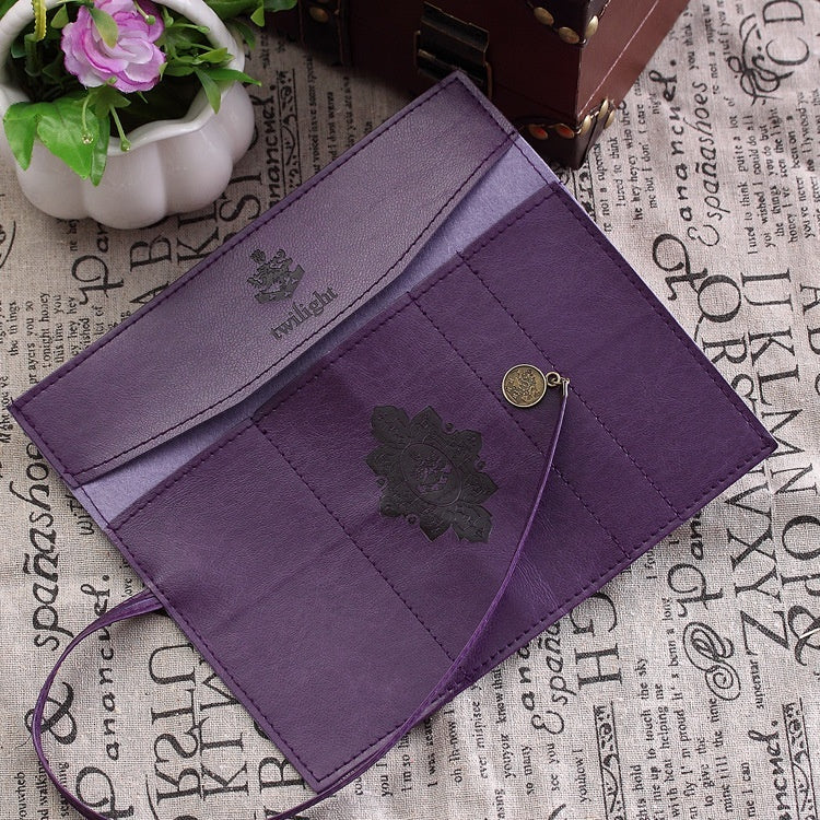 Vintage Retro Luxury Roll Leather Make Up Cosmetic Pencil Case Pouch Purse Bag for School