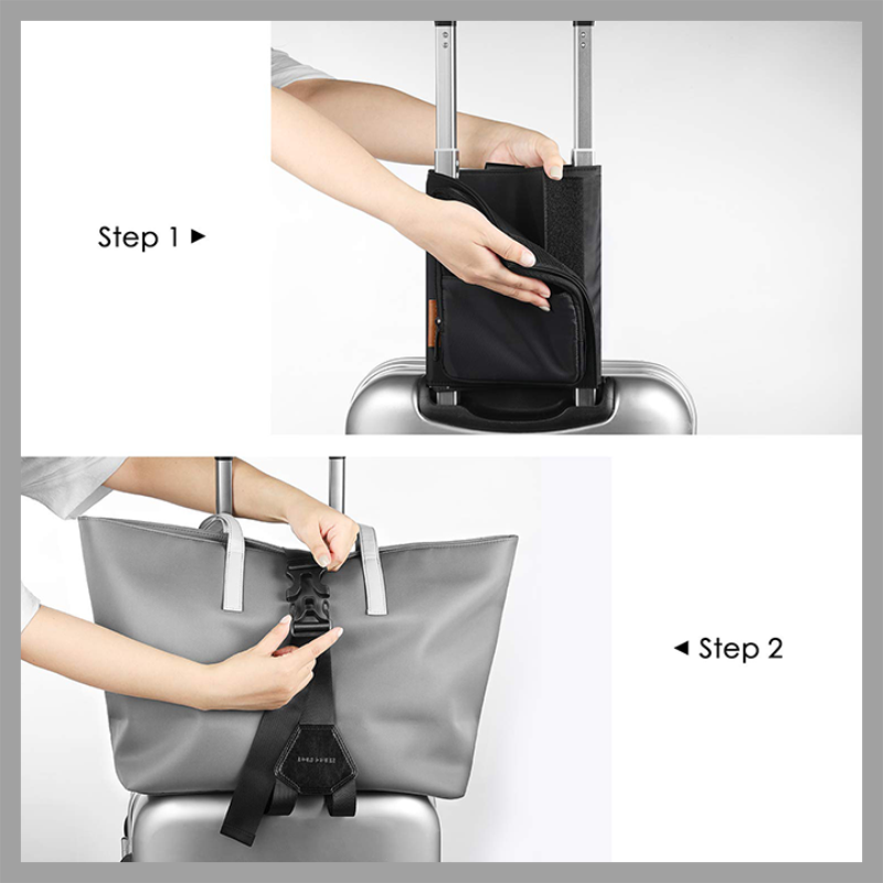 Easy Carry-On Luggage Bag Bungee