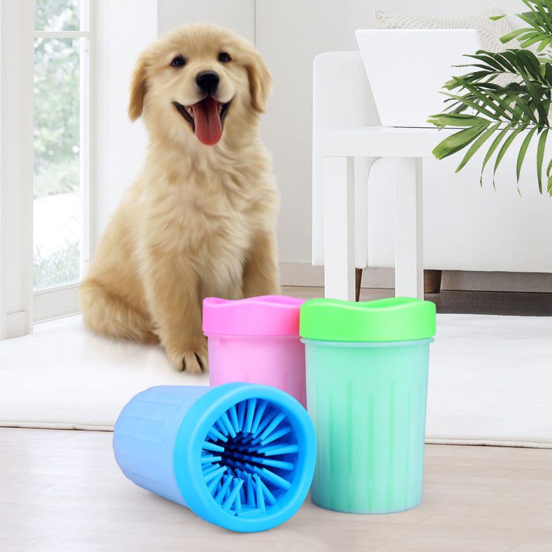 Foot Wash Cup Dog Foot Washing Device Pet Dog Foot Care Cleaning Product High Quality Silicone Pet Foot Washing Machine