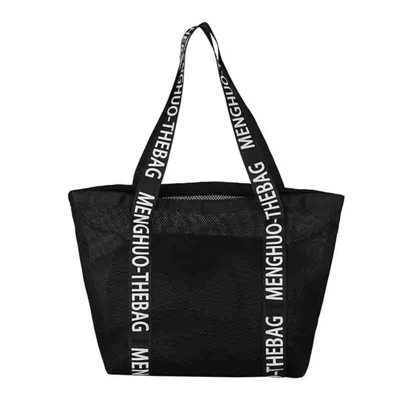 2PCS Women's Hallowed Shoulder Tote Bags