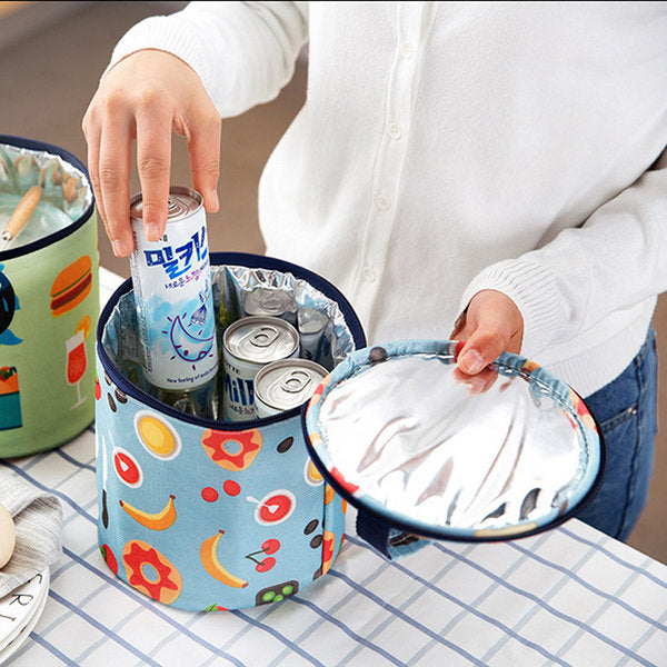 Insulation Lunch Bag Large Aluminum Foil Thickening Tote Bag