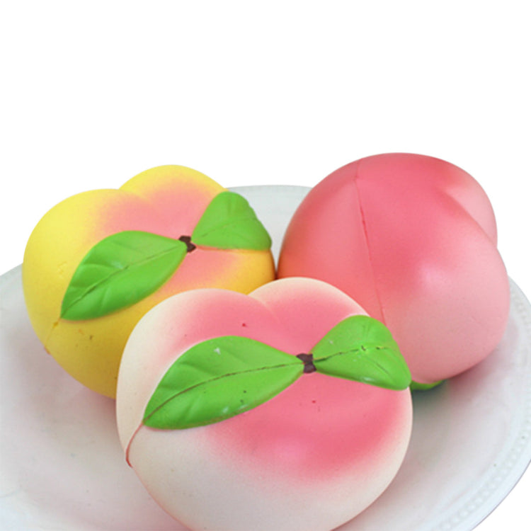 Kawaii Simulation Peach Squishy Slow Rising Squishy Fun Toys Decoration