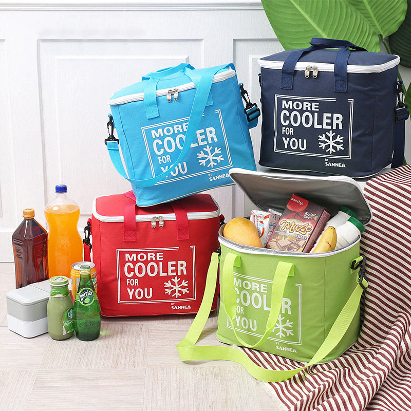 Insulation Outdoor Picnic Aluminum Lunch Bag Insulation Cold Lunch Bag