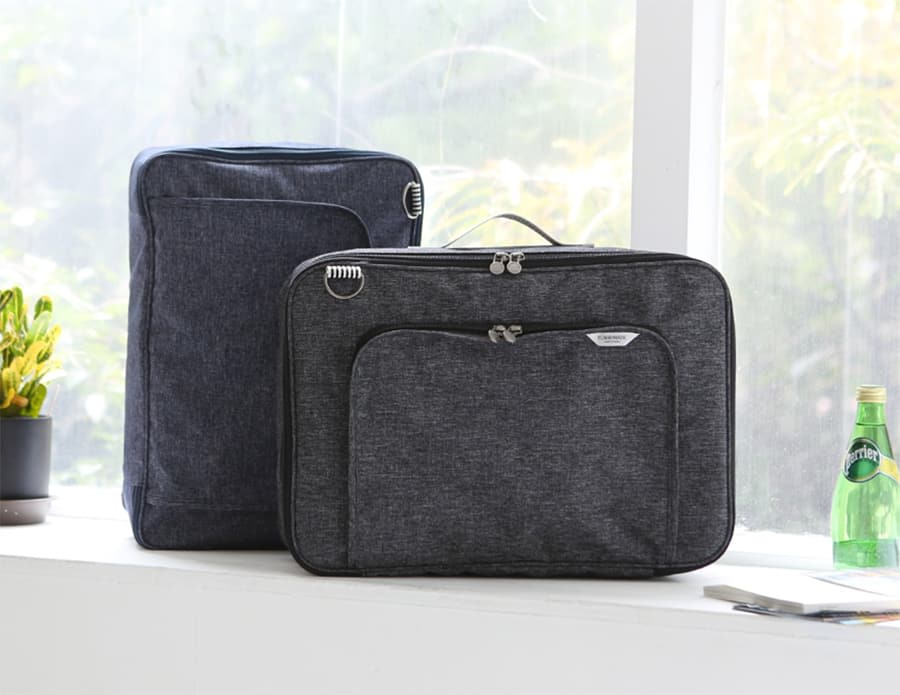 Shoulder bag business short travel bag luggage multi-function clothing storage trolley bag