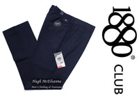 Navy Sturdy Fit Trouser by 1880 Club Style: 62763/79