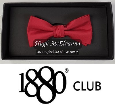 Boys Plain Bow Tie Call No: WB4308 ( 2 Colour Options Available ) - Hugh McElvanna Menswear