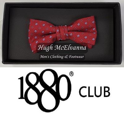 Boys Design Bow Tie Call No: WB4684 ( 2 Colour Options Available ) - Hugh McElvanna Menswear