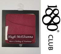 Boys Plain Pocket Square Call No: PB4682 ( 2 Colour Options Available ) - Hugh McElvanna Menswear