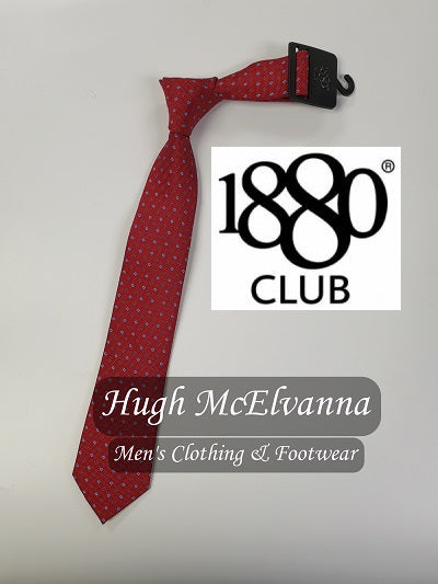 Boys Design Tie Call No: B4684 ( 2 Colour Options Available ) - Hugh McElvanna Menswear