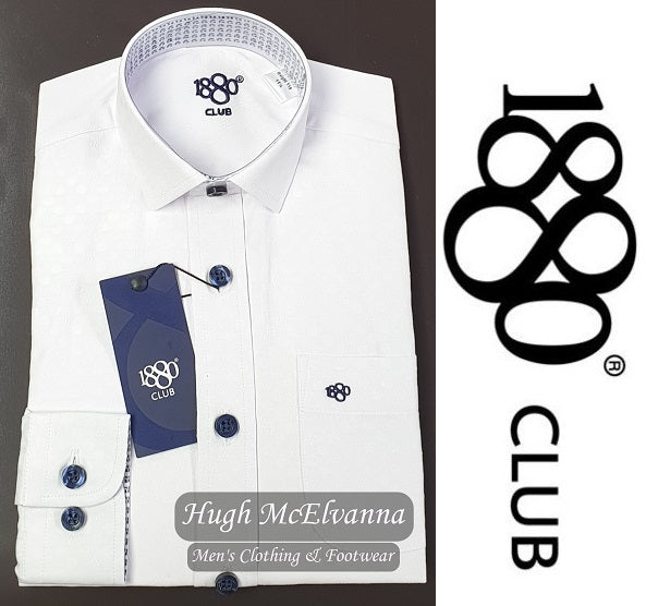 Boys 1880 Club® Shirt Call No: 25682/01 - Hugh McElvanna Menswear
