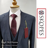 Skopes 3Pc. BREASIDE NAVY Puppytooth Suit
