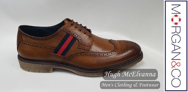 Morgan & Co. Laced Shoe Style: MGN0800 - Hugh McElvanna Menswear