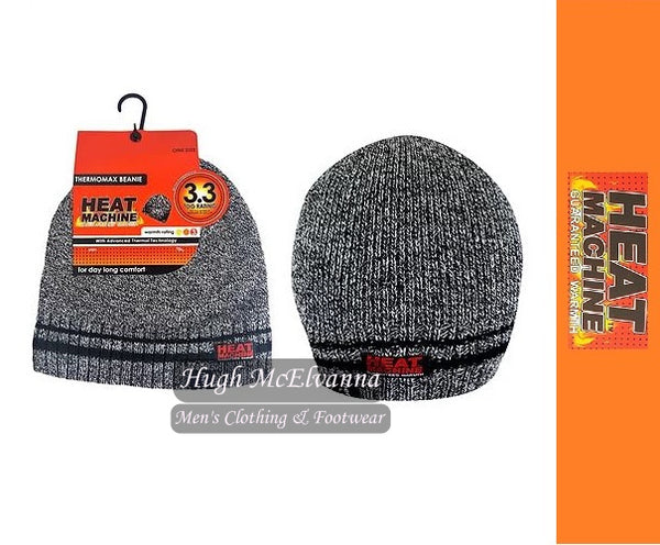 Thermal Lined Beanie Hat by Heat Machine