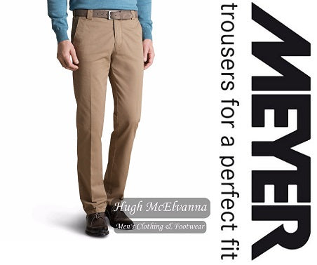 Meyer Cotton Trouser Style: Roma 316/33 - Hugh McElvanna Menswear