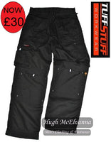 Black Work Trouser by Tuffstuff Style: 700B