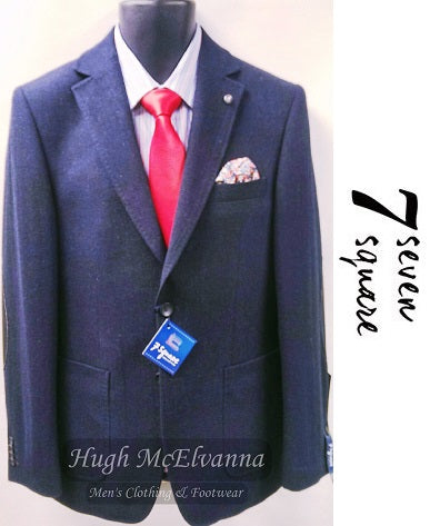7 Square Sports Jacket - Hugh McElvanna Menswear
