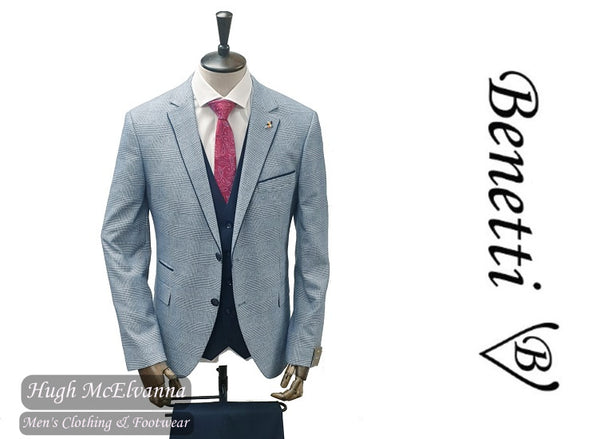 Fashion 3Pc. Suit by Benetti® Style: MARVIN