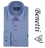 Benetti Modern Fit Long Sleeve Design Shirt Style: LIAM