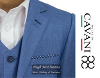 Boys 3Pc Suit by House Of Cavani Style: Blue Jay