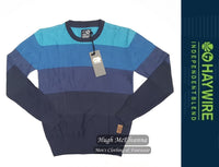 Boy's Round Neck Pullover by Haywire Style: GIRTON - 2 Colour Options Available - Hugh McElvanna Menswear