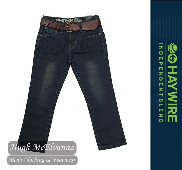 Boys Belted Jean by Haywire Style: Farrow