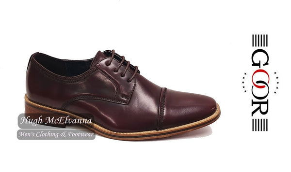 Boys Oxblood Laced Brogue by Goor Style: 996