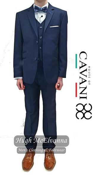 Boys 3Pc Suit by Cavani Style: JEFFERSON - Hugh McElvanna Menswear