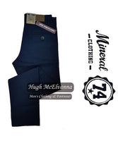 Boy's Navy Chino Trouser by Mineral Clothing Style: ML401050