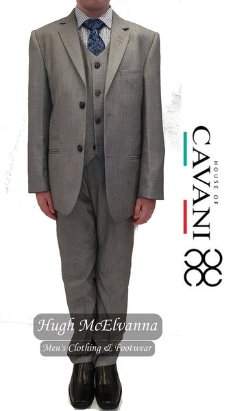 Boys 3Pc Suit by Cavani Style: REEGAN - Hugh McElvanna Menswear